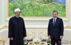 Президент Шавкат Мирзиёев принял Верховного имама Египта