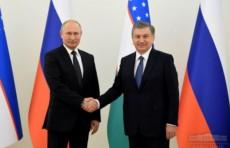 Шавкат Мирзиёев и Владимир Путин провели переговоры в узком формате