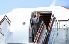 Президент Шавкат Мирзиёев прибыл в Фергану