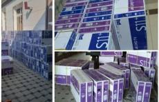 Ферганские таможенники пресекли незаконный оборот 610 телевизоров
