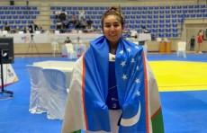 Узбекская пара-таэквондистка Гульджаной Наимова завоевала золото на чемпионате Азии в Ливане