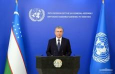 Президент Узбекистана выдвинул важные инициативы на 76-й сессии Генеральной Ассамблеи ООН