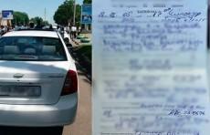 За три дня ГУВД г. Ташкента зафиксировало 174 нарушения правил стоянки