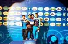 Впервые борцы Узбекистана завоевали 3 золотые медали ЧМ