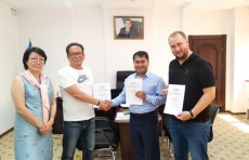 Казахская компания «Ecoton Sharq» стала участником СЭЗ «Ангрен»