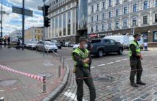 Узбекистанца, угрожавшего взорвать банк в Киеве, захватили