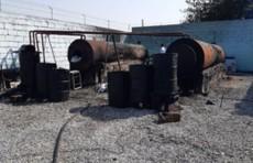 В Фергане пресечена деятельность подпольного цеха по переработке нефти