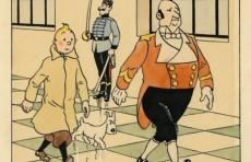 Редкий рисунок Тинтина продали за €500 тысяч