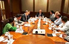 Абдулазиз Камилов встретился с деятелями науки и культуры Индии