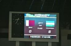 Азиатские игры: Сборная Узбекистана по футболу победила Катар и досрочно вышла в плей-офф