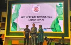 Узбекистан удостоился туристической премии «India's Best Awards»