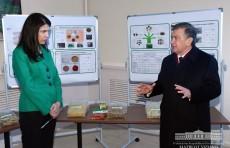 Президент Шавкат Мирзиёев посетил академический лицей