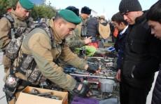 В Джизаке прошел фестиваль под названием «Армия и молодежь»