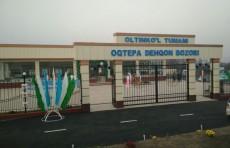 В Узбекистане открылся первый дехканский рынок по типовому проекту