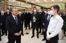 Шавкат Мирзиёев: Необходимо создать бухарский бренд в сфере IT
