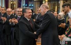 Шавкат Мирзиёев принял участие в церемонии открытия Народной библиотеки при Президенте Турции