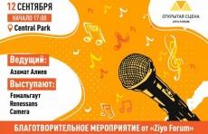В Central Park состоится благотворительное мероприятие «Открытая сцена»