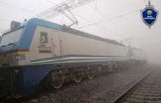 В Наманганской области грузовой поезд насмерть сбил 82-летнего мужчину