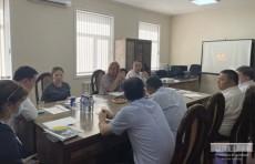Представители Министерства финансов и компании Ernst&Young провели переговоры