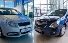 UzAuto Motors: Cobalt и Nexia — самые продаваемые автомобили в Казахстане