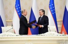 Узбекистан и Россия подписали 20 документов по развитию сотрудничества