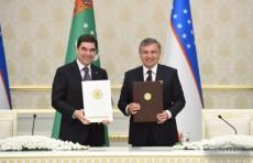 Узбекистан и Туркменистан подписали 17 документов