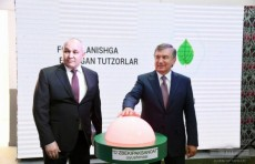В Андижанском районе заработало предприятие «Andijan Silk.Co»