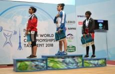 Кумушхон Файзуллаева стала чемпионкой мира по тяжёлой атлетике