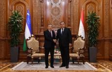 Шавкат Мирзиёев провел встречу с Эмомали Рахмоном
