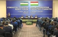 В Ташкенте прошел узбекско-таджикский бизнес-форум