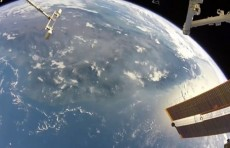 Astronaut reveals spaceside view of earth on social media