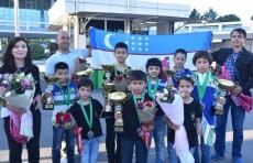 Юные шахматисты Узбекистана завоевали первое место на Чемпионате мира по шахматам