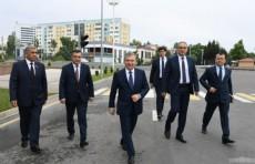 Президент Шавкат Мирзиёев посетил Студенческий городок в Ташкенте