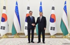Состоялась церемония официальной встречи Президента Республики Корея