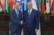 Министр иностранных дел Узбекистана встретился с главой ОБСЕ