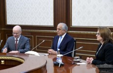 Президент Узбекистана принял делегацию США