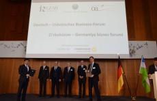 O'zsanoatqurulishbank подписал с немецкими банками соглашения на 285 млн. евро