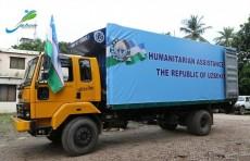 Узбекистан передал гуманитарную помощь беженцам из Мьянмы