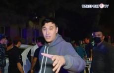 Двое мужчин напали на оператора телеканала UZREPORT TV (Видео)