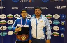 Жамшид Маруфов стал чемпионом мира по спортивной борьбе среди юниоров