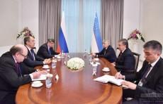 Президент принял главу МИД России Сергея Лаврова
