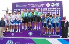 ЧА по велошоссе: команды Республики Корея и Казахстана завоевали «золото»