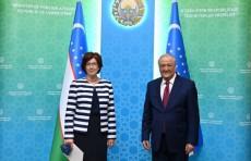 Абдулазиз Камилов принял нового посла Канады в Узбекистане