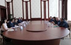Руководство «Halyk Bank» провело переговоры в Центральном банке Узбекистана