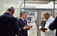 Президент ознакомился с обновленной психиатрической клиникой