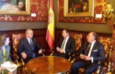 Глава МИД встретился с первым зампредседателя Сената Испании