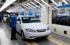 В UzAuto Motors возобновили производство Lacetti и Spark