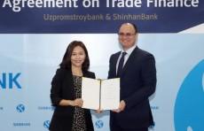 Узпромстройбанк и Shinhan Bank подписали соглашение на $60 млн.