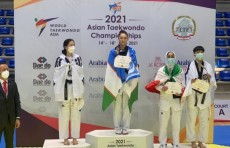 Узбекская таэквондистка Феруза Садыкова стала чемпионкой Азии
