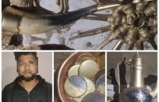 Бесценный клад: житель Сырдарьи выдавал обычные запчасти за ценности стоимостью $97 млн.